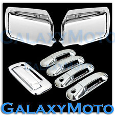06-10 EXPLORER SPORT TRAC Chrome Mirror+4 Door Handle W/PSG keyho+Tailgate Cover