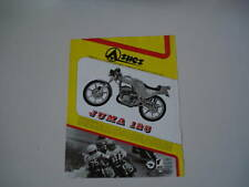 advertising Pubblicità 1980 MOTO ASPES JUMA 125