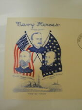 FIRST DAY COVER NAVY HEROES NUMBER 1
