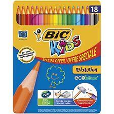 Bic Crayons de couleur Kids Évolution - Couleurs Vives