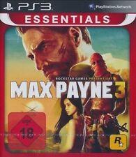 PS3 / Sony Playstation 3 Spiel - Max Payne 3 (Essentials) (mit OVP)(USK18)