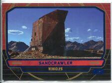 Star Wars Galactic Files Blue Parallel #270 Sandcrawler