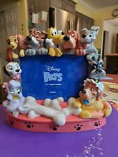 New ListingRare Vintage Disney Pets Dogs 3D Resin Picture Frame 5x7 Near Mint Condition!