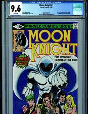 Moon Knight #1 CGC 9.6 NM+ Marvel Comics 1980 1st  Bushman K12