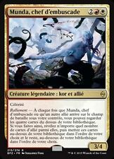 MTG Magic BFZ - Munda, Ambush Leader/Munda, chef d'embuscade, French/VF