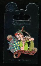 Peter Pan with Compass Never Grow Up Disney Pin 116279