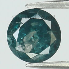 0.74 Ct Natural Loose Diamond I3 Clarity Round Blue Color 5.50 MM L8584