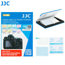 JJC Optical Tempered Glass Screen Protector for Canon PowerShot SX70 HS,SX60 HS