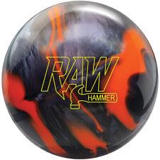 Hammer Raw Hybrid Bowling Ball NIB 1st Quality Orange Black