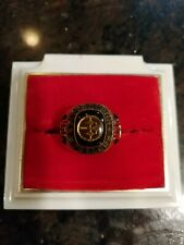 Pittsburgh Steelers Classic Ring Large Goldone NFL Size 12