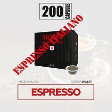 200 capsule compatibili bialetti* caffè milano mokona cuore gratis
