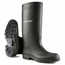 Dunlop Wellies Wellingtons Mens Womens High Calf Rain Muck Boots Shoes Size 4-13