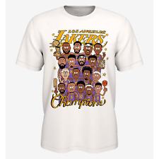 HOT NEW Lakers Championship Shirt 2020 NBA Finals Champions Mamba Gift Unisex