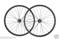 "29"" 24mm width Carbon wheel straight pull powerway 28 holes hub for XC bike"