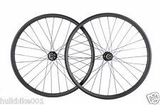 27.5er 650B 24mm width Carbon wheelset for mountain bike tubeless compatible
