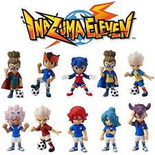 Inazuma Eleven Mini Figure Gekito Set Completo 10 Personaggi Anime Manga