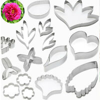 Stainless Steel Biscuit Cookie Fondant Mold Mould Cutter Cake Decoration Set