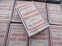 US Army Zündhölzer Matches American Red Cross Navy Marines Original WK2 WWII USN