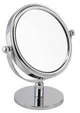 5x Aumento Cromado Espejo con una Ronda Base dormitorio o baño 54218chr