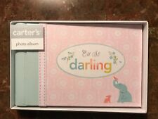 Cr Gibson Oh So Darling Baby Girl Pink Brag Book Photo Album Holds 20 Photos