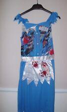 Disfraces de Halloween para mujer Brujas Talla 8-10 Nuevo Vestido de Disfraz Adultos Zombis Sangre