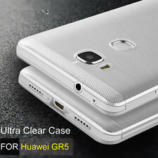 Clear Soft TPU Gel Jelly Back Case for Huawei GR5 / Honor 5X Free Screen Guard