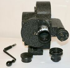 Eyemo 35mm Cine Camera With P. Angeneiux 14.5mm f/3.5 Type R62 Retrofocus Lens