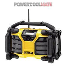 Dewalt DCR017-GB XR DAB/FM Radio + Charger 240v 10.8v-18v NEW