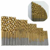 50PC HSS COBALT DRILL BIT SET 1.0mm-3.0mm TITANIUM DRILL TOOL STEEL U7W4 S2V0