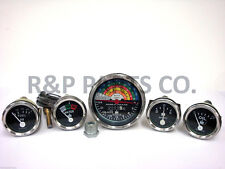 Tachometer Oil Fuel Temp Amp Gauge Package Set For International Ih Farmall 340