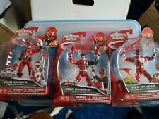 Power Rangers Super Megaforce Mighty Morphin Red, S.P.D Red and R.P.M. Red