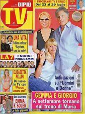 Dipiù Tv.Gemma Galgani,Giorgio-Maria De Filippi,kkk