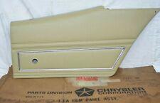 71-74 Plymouth Sebring Rear Door Panel GTX Satellite Road Runner Right Upper NOS