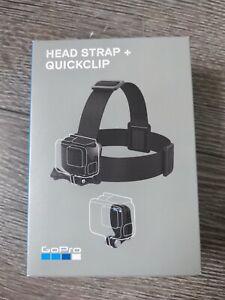 BRAND NEW Genuine GoPro Head Strap and Quickclip