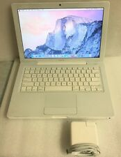 "Apple MacBook A1181 2300 C2D 2.0GHz NVIDIA 2GB 120GB 10.10.3 Yosemite 13"" 2009"