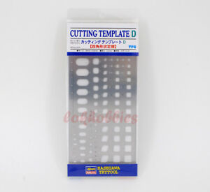 HASEGAWA Trytool TP-8 Modeling Cutting Template D Model Tool