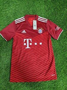 adidas Bayern Munich Men's Soccer Jersey- 2021/22