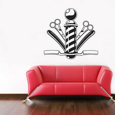 Vinyl Wall Decal Sticker Bedroom Hair Nail Salon Signboard Barber shop r1593