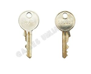 NSM JUKEBOX CABINET KEY 009901 NEW - FAST AND FREE UK DELIVERY