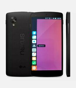 LG Google Nexus 5 Ubuntu Touch Linux No Samsung Huawei Sony iPhone Apple iOS