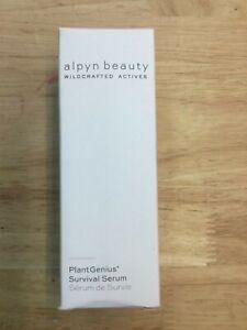 Alpyn Beauty PlantGenius Survival Serum, 1.7 fl oz