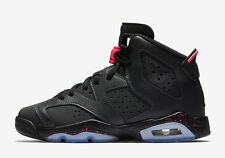 Nike Air Jordan 6 VI Retro GG SZ 6.5Y Black Anthracite Hyper Pink GS 543390-008
