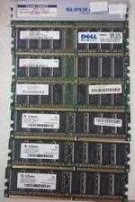 9 PIECES Mixed Lot DDR-400 DDR-266  desktop ram