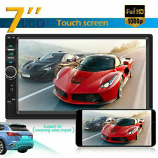 7 Inch Double Car Radio Stereo In-Dash+Camera MP5 Player 2 Din Bluetooth FM AUX