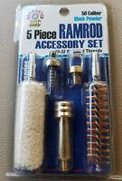 Black Powder 50 cal. 5 Piece Ramrod Accessory Set 10x32 Threads LC112701-23