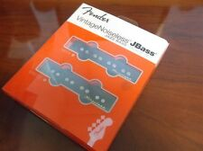 NEW - Fender Vintage Noiseless Jazz Bass Pickup Set - BLACK, 099-2102-000