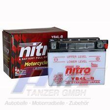 Nitro Motorradbatterie YB4L-B 12V