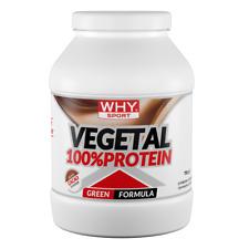 Why Sport 100% Vegetal Protein 750 gr. Proteine Vegetali Vegane senza Lattosio