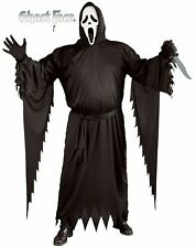 Adult Classic Scream 4 Ghost Face Costume and Mask Horror Halloween Standard Men