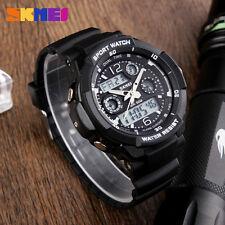 Sport Men Kid Watch Quartz Analog Digital Military Shockproof Wristwatch